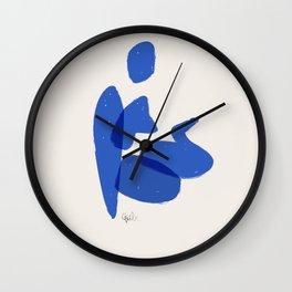 Bather 3 Wall Clock