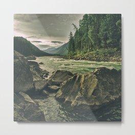 the river 5 Metal Print