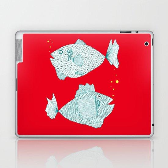 Two Old Fish Laptop & iPad Skin