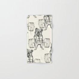 English Bulldog Lift Hand & Bath Towel
