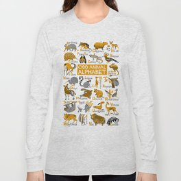Odd Animal Alphabet Long Sleeve T-shirt