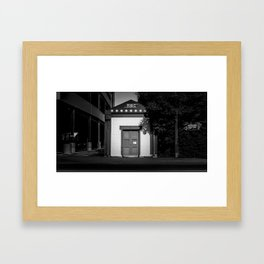 The Christchurch Electricity Substation Project IV Framed Art Print