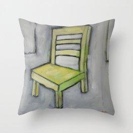 The Short Chair Throw Pillow