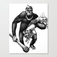 Mad Brute Canvas Print