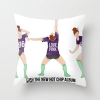 30 seconds to mars Throw Pillows featuring The new Hot Chip album that, 30 seconds in, makes my heart sing! By Priscilla Li by 1THINGapp