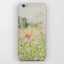 wild flowers ... iPhone Skin