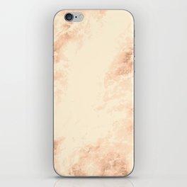 Bronze marble texture iPhone Skin