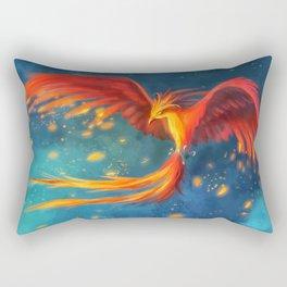 Beautiful phoenix Rectangular Pillow