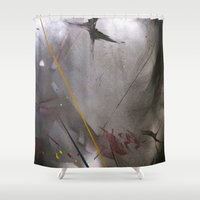 depeche mode Shower Curtains featuring mode 2 by graphdeville