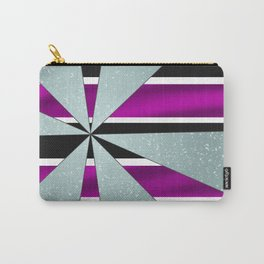 4Shades Glass: Purple B/W Carry-All Pouch