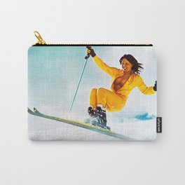 Keep it up, Ski Girl Carry-All Pouch