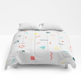 COLORFUL MEMPHIS PATTERN Comforters