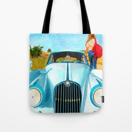 Old Blue by Liane Wright Tote Bag