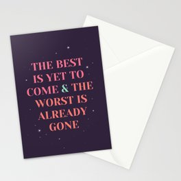 enjoy the present! Stationery Cards