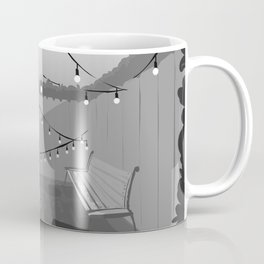 Brick Alley Garden Coffee Mug