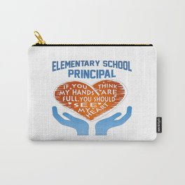 Elementary Principal Carry-All Pouch