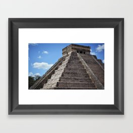 El Castillo (2) Framed Art Print