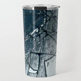 Shattered Glass Travel Mug