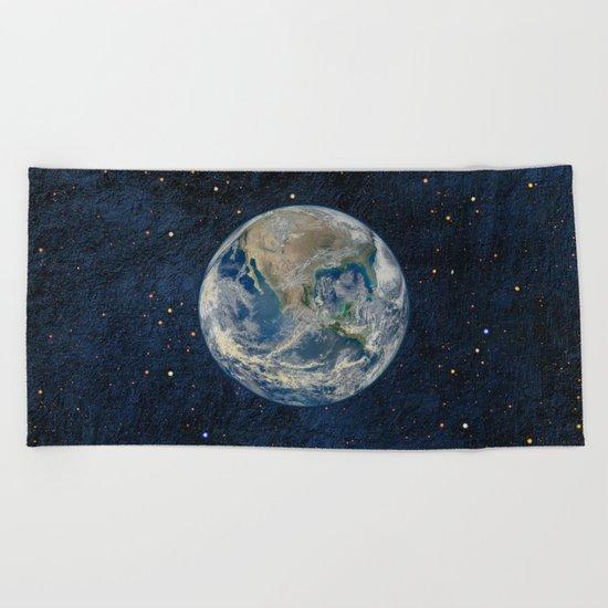 Earthrise Beach Towel