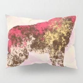 Abstract Wolf Pillow Sham