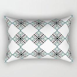 Vintage Bohemian Aztec Inspired Pattern Rectangular Pillow