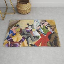 Andre Lhote - Gypsy Bar (La Danse au Bar) 1925 - Artwork for Wall Art, Prints, Posters, Tshirts, Men Rug