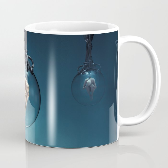 Ripe For The Harvest Sci Fi Human Clones Coffee Mug