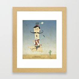 Don Mateo Framed Art Print