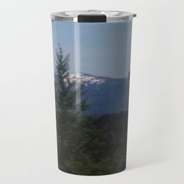 Snow Cap Mountains Travel Mug