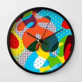 Funny Pattern Wall Clock