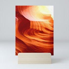 Bright Antelope Canyon Colors Mini Art Print