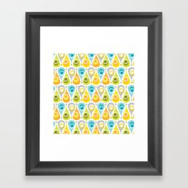 Funky Summer Framed Art Print