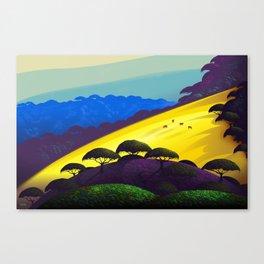 Sunny Slope Canvas Print
