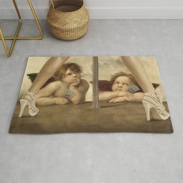 Not so Little Angels Rug