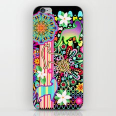 Mandalas, Cats & Flowers Fantasy Pattern iPhone & iPod Skin