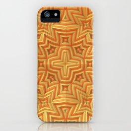 Fall Basket Pattern iPhone Case
