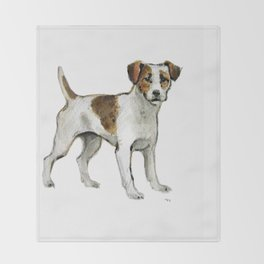Jack Russell Terrier Throw Blanket
