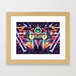 BirdMask Visuals - Falcon Framed Art Print