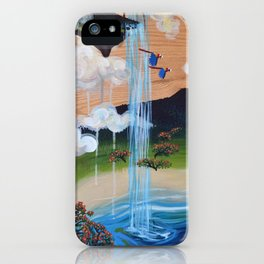 Costa Rican Lagoon iPhone Case