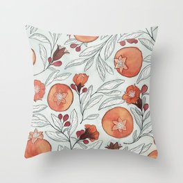 Young Pomegranates Throw Pillow