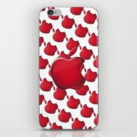 apple iPhone & iPod Skins featuring Apple by JT Digital Art