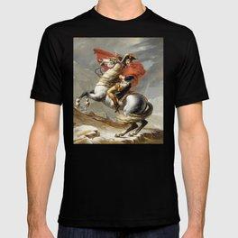 Bonaparte - The Emperor Napoleon - Jacques Louis David T-shirt