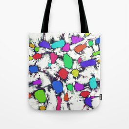 Candy scatter Tote Bag