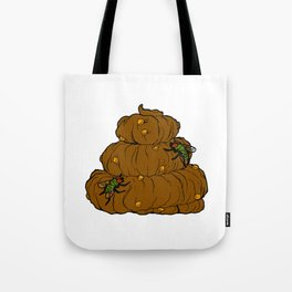 Poop & Flies Tote Bag