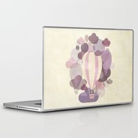 balloons Laptop & iPad Skins featuring Balloons by mirimo