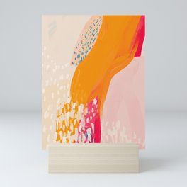 The Abstract Shape Of Spring Mini Art Print