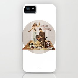 Just Gimme Indie Rock | Collage iPhone Case