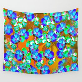 Floral Vine - Gold Wall Tapestry