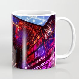 Synthwave Space #6: Cockpit Coffee Mug