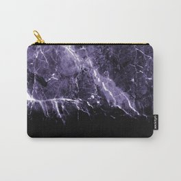 Ultra Violet Marble #1 #decor #art #society6 Carry-All Pouch